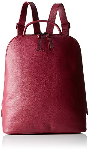 BREE Damen Cary 4, Backpack W19 Rucksack, Rot (Rhododendron), 12.5x32x27 cm