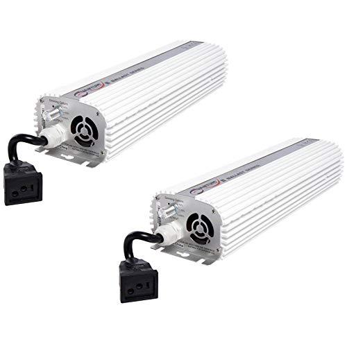 (2) QUANTUM 1000W Watt HPS & MH Dimmable Digital Grow Light Ballasts | QT1000