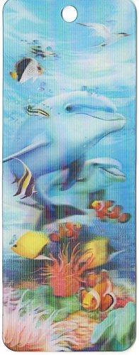 Segnalibro 3D Underwater–sotto le onde di Howard Robinson