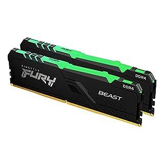 Kingston 32GB 3200MHz DDR4 CL16 DIMM (Kit of 2) Fury Beast RGB (B097HNF3ZQ) | Amazon price tracker / tracking, Amazon price history charts, Amazon price watches, Amazon price drop alerts