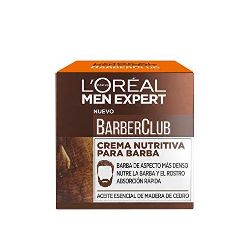 L'Oréal Crema Nutritiva Para Barba Absorción Rápida 50 ml
