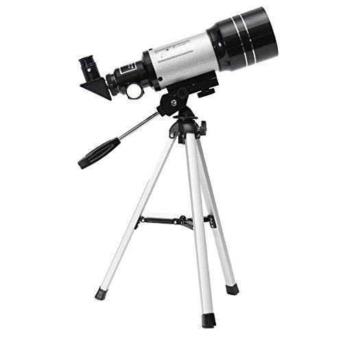 Inovey Outdoor F30070M HD Monokulares High Definition Terrestrisches Astronomisches Teleskop mit Stativ