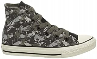 Converse CT All Star HI Charcoal Youths Trainers 5 US
