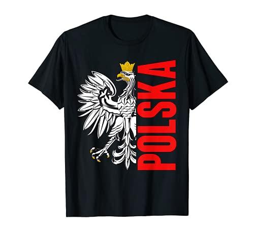 Polen Flagge Fußball Trikot Polska Futbol T-Shirt