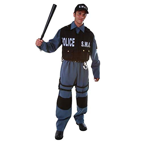 Dress Up America Costume da adulto ufficiale di polizia di S.W.A.T.
