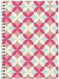Ladytimer Ringbuch Retro - Taschenkalender A5 - Kalender 2021 - Alpha Edition-Verlag - Eine Woche auf 2 Seiten - Buchplaner mit Platz für Notizen - Format 14,8 cm x 20,8 cm