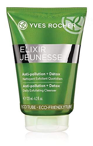 Yves Rocher ELIXIR JEUNESSE tägliches Reinigungs-Peeling, porentiefes Gesichtspeeling Detox & Reinigung, 1 x Tube 125 ml