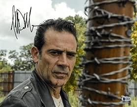 Jeffrey Dean Morgan signed The Walking Dead Negan 11x14 Photo (horizontal w/Lucille Bat)- Beckett Holo #C65465 - Beckett Authentication