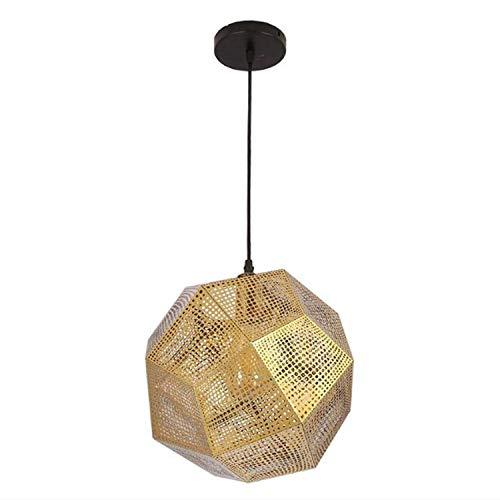 AI LI WEI Juan mooie lampen/kroonluchter verlichting Nordic Hollowed meerzijdige bolvormige lampen-licht Post-Moderne creatieve roestvrij stalen geometrische restaurant kroonluchter