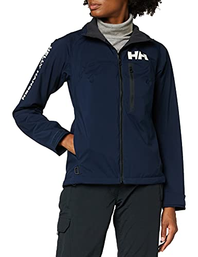 Helly Hansen HP Racing Midlayer Lifaloft Cuello Forro Polar Marina Deportes Navegación Chaqueta Impermeable, Mujer, Azul (Navy), XS