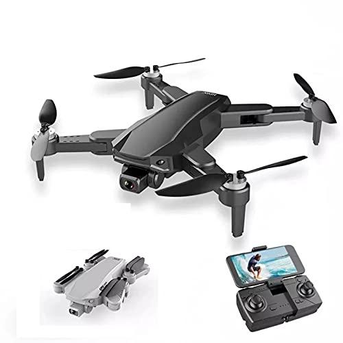 Lobhqph GPS 3km Drone 30 Minutos, Adultos Drone con 6K Dual HD Camera 5G WiFi FPV Fotografía aérea Profesional Motor sin escobillas RC Quadcopter Drones Plegables