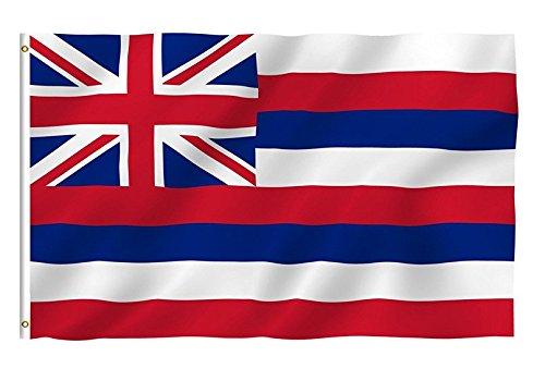Hemore Flaggenladen–Bandera DE 90* 150cm Hawaii Staats WM 2018Estado Bandera/País Bandera/Bandera de Estado