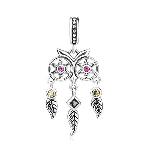 EVESCITY - Abalorios de plata de ley 925 para pulseras de abalorios, el mejor regalo de joyería para el día de la madre