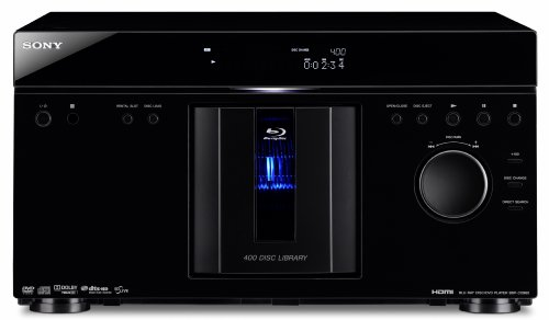 Lowest Price! Sony BDP-CX960 400 Disc Blu-ray Disc / DVD MegaChanger (Black) (2009 Model)