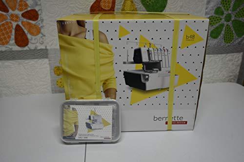 Bernette 48 Funlock Serger Coverstitch Sewing Machine + 6 Free