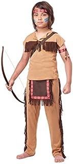 California Costumes Native American Brave Child Costume, Small