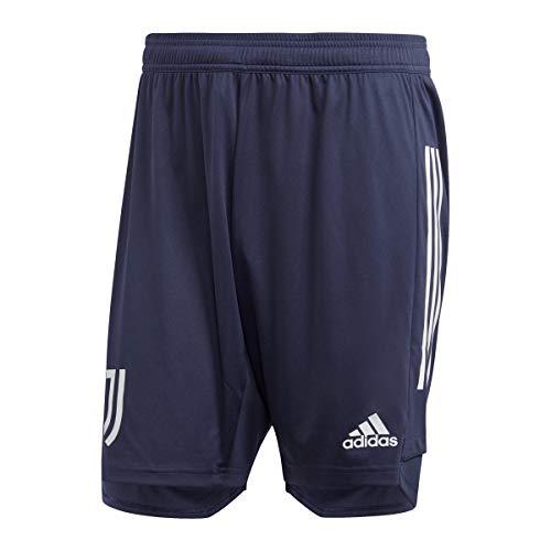 adidas Juve TR SHO, Pantalone Corto Uomo, Tinley/Griorb, XL
