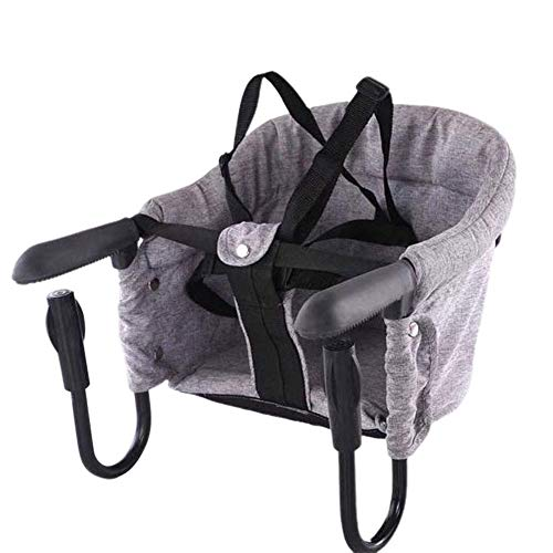 Hook On Chair, Folding Baby Feeding Seat, Portable Table High Chair For...