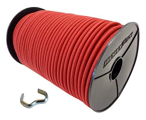 Cuerda elástica de 6 mm – 8 mm con abrazaderas de cable,...