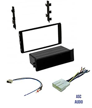 Premium ASC Car Stereo Dash Install Kit Wire Harness and Antenna Adapter to Install Aftermarket Radio for select Nissan Vehicles - Compatible Vehicles Listed Below