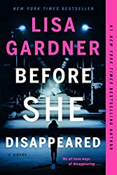 Before She Disappeared January 2021 New Book Release