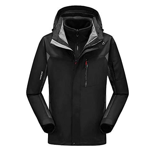 Winter Snowboard pak heren ski jas isolatie voering winddicht en waterdicht geschikt voor winter skiën uit zwart