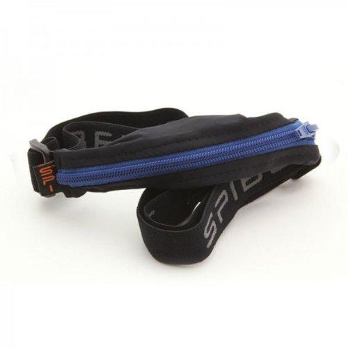 Spibelt d'origine Basic with Blue Zipper Sac de Course, Noir, S/XL