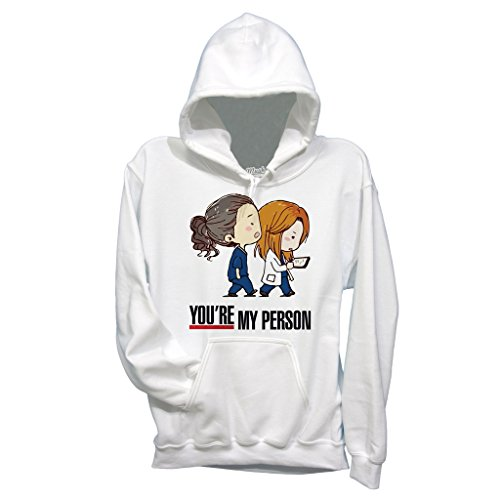 MUSH Felpa You Are My Person - Grey's Anatomy - Film by Dress Your Style - Donna-M-Bianca