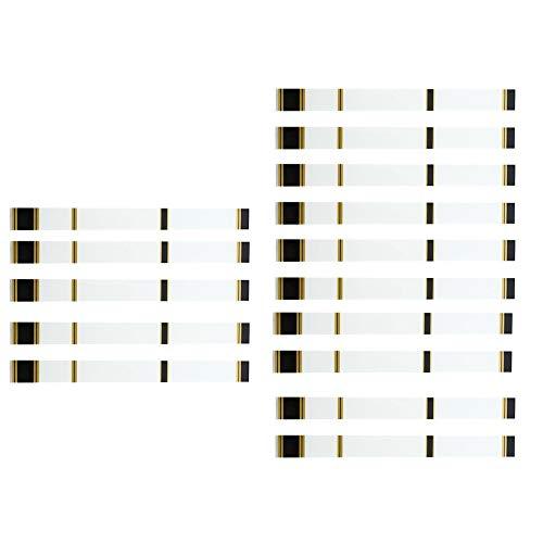 CVBN Bow Arrow Sticker 15 PCS Envolturas termorretráctiles Pegatinas Adhesivas de Flecha de Tiro con Arco, Blanco