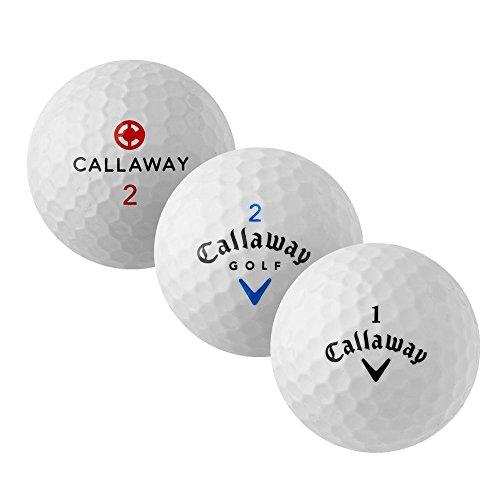 Callaway Mix - AAAA - weiß - gebrauchte Golfbälle - 25 Lakeballs