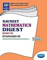 Std 9 | Mathematics Digest Part 2 | Navneet | English Medium | Maharashtra State Board |