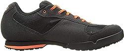 Giro Men's Rumble Vr MTB Cycling Shoes - Mountain Bike, Multicolor (Black / Glowing Red 000), 41.5 EU