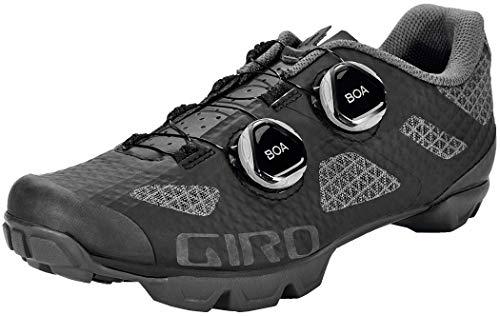 Giro Sector Women's Mountain Biking Shoes (Black/Dark Shadow (2020), Numeric_5)