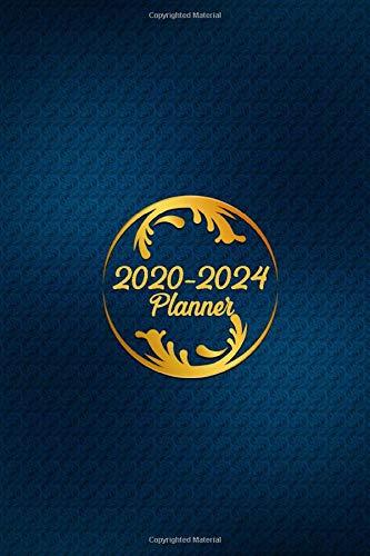 2020 - 2024 5 Year Planner spiral bound Organizer, Monthly Planner. Plan and schedule your next five years Notebook Journal diary: Schedule 2020, 2021, 2022, 2023, 2024
