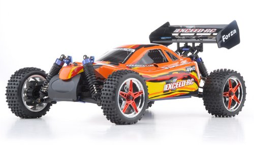 Exceed RC 1/10 2.4Ghz Forza .18 Engine RTR Ready to Run Nitro Powered Off Road BuggyREQUIRED to Run and Sold Separately: Starter KIT