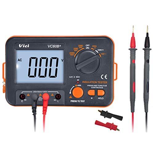 Dhmm123 Digital VC60B + Erdungsisolationswiderstandstester Ton Und Optischer Alarmsignalton Spezifisch