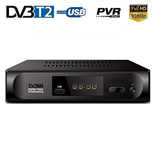HD DVB-T Set-Top-Box für DVB-T2-TV-Tuner DVB-T Tuner WiFi Receiver DVBT2 DVBT2 Vga Digital TV Box + USB WiFi Unterstützung AC3 PVR EPG