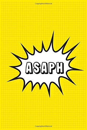 Asaph: Personalized Name Asaph Notebook, Gift for Asaph, Diary Gift Idea