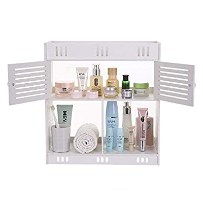 Wall Mount Bathroom Wash Cabinet Non-Perforated...