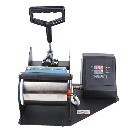 Máquina de Prensa de Calor Digital, 300 ℉ sin Deformación Taza de Café Taza Prensa de Calor Transferencia Impresora de Sublimación Calefacción Automática Calefacción Transferencia de Impresión(UE)