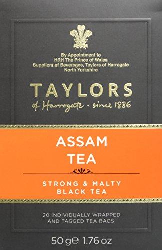 Taylor´s of Harrogate Pure Assam Tea - 20 Wrapped Tea Bags (50g)