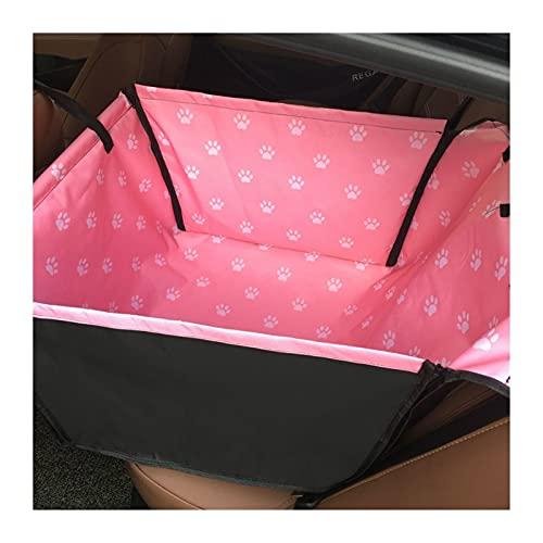 asiento de coche para perro Asientos de automóviles para perros, asientos de coches para perros para perros pequeños Carpetas de mascotas a prueba de agua para perros cubiertas de asiento de coche de