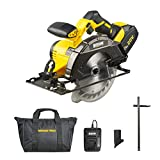 Morgans Power Cordless Circular Saw + 3.0Ah Li-ion 20V MAX Battery +Charger + 1x 165mm / 6 ½' TCT Tip Blade +...