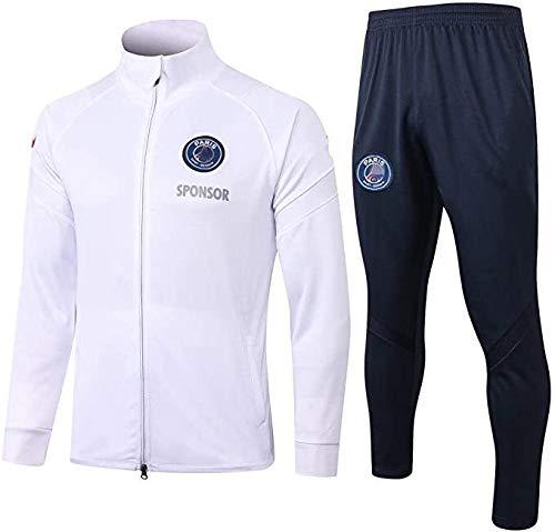 CUIGANG Camiseta de primavera verano nueva temporada de fútbol europeo traje de entrenamiento gimnasio deportes al aire libre hombres jersey traje de primavera verano jersey (tamaño: M)