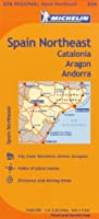 Michelin Spain Northeast: Catalonia, Aragon, Andorra (Maps/Regional (Michelin))