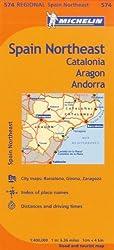 Northeast Catalonia, Aragon, Andorra, Map Fishing