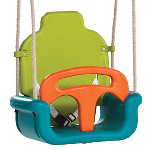 ZCXBHD 3-in-1 peuter schommelstoel voor baby's tot tieners, afneembare outdoor peuters kinderen opknoping stoel voor speelplaats achtertuin Swing Set