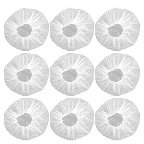 NONE 200 Stück Medizinische Einweghüte Vlies-Bouffant-Kappen Haarnetze Haarabdeckung Chirurgische Staubdichte Sterile Kappe