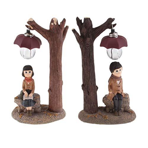 Tubayia - 1 par de Figuras de niña y niño
