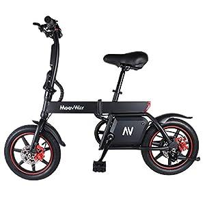immagine di Windgoo Bicicletta Elettrica, 12-14 Pollici Monopattino Elettrico, Potenza 350 W Batteria 36 V 6,0 Ah E-Bike, Bicicletta Elettrica Pieghevole, velocità Max 30km/h (B20)